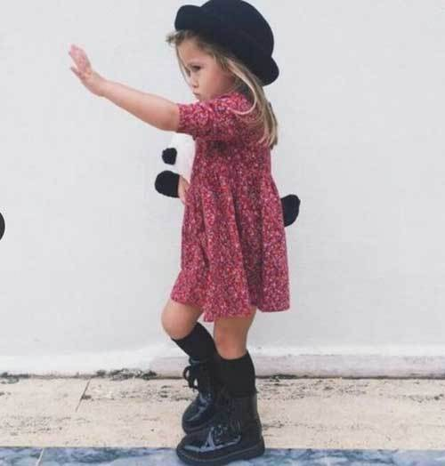 Toddler Girl Dress Cool Outfits-20