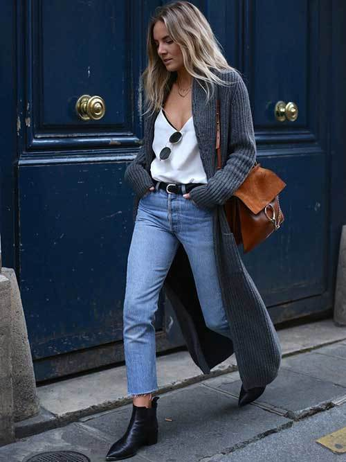 Mom Jean Long Cardigan Outfit Ideas-22