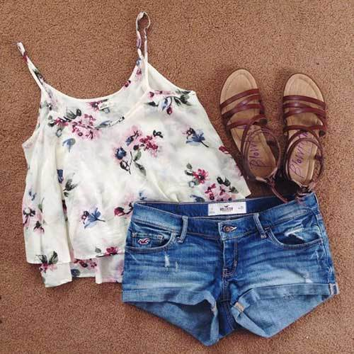 Easy Summer Tropical Print Outfits-24