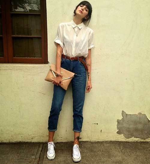 Mom Jean Vintage Outfit Ideas-24