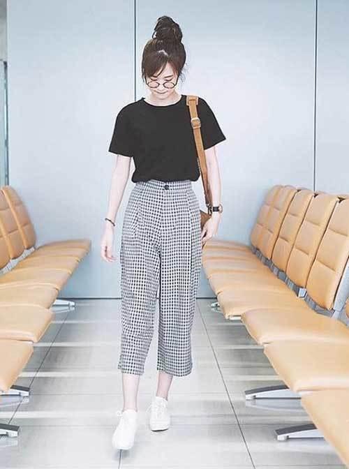 Korean Fashion Squarepants Outfits-7