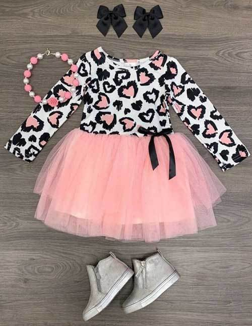 Toddler Girl Dress Tutu Dress-7
