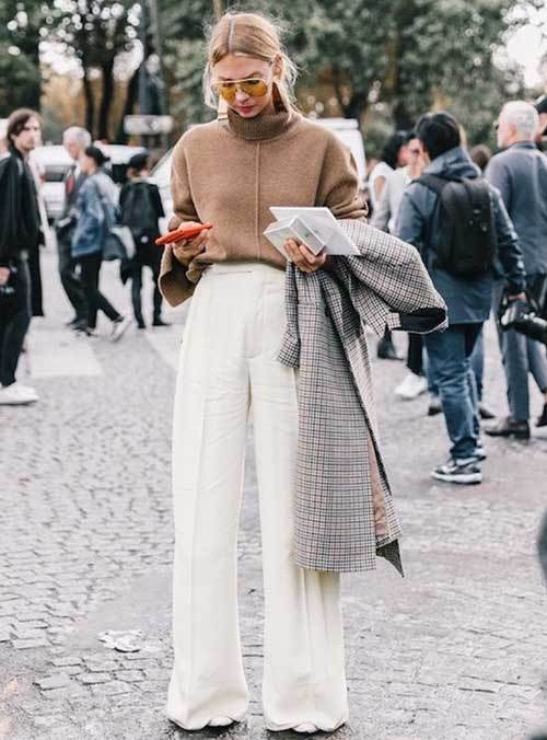 Paris Wide Legged Pants Outfit Ideas-8