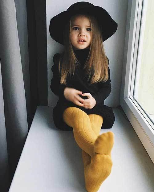 Cute Black Dress Toddler Girl Outfits