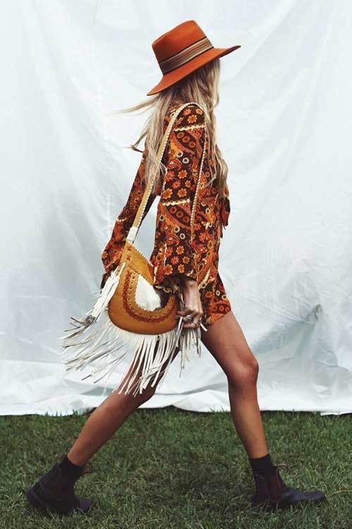 Boho Festival Coachella Outfit