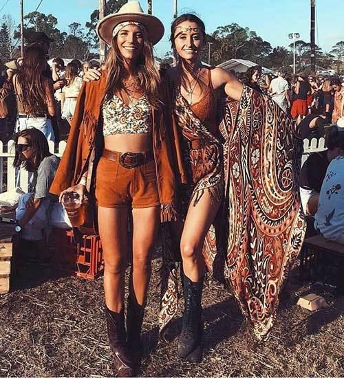 Boho Festival Outfits
