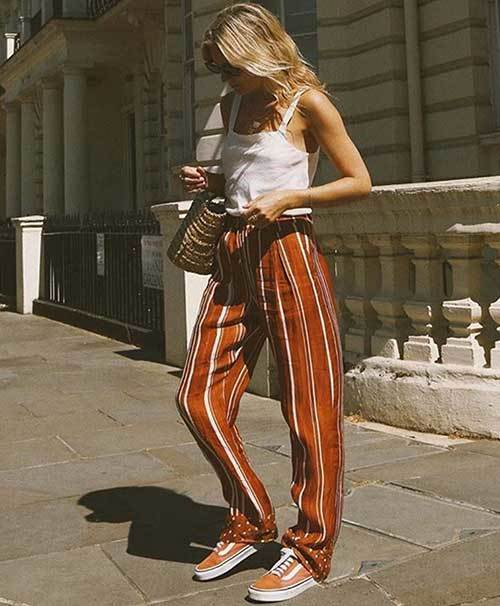Striped Cool Outfit Ideas