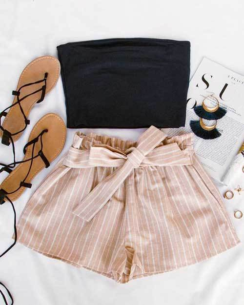 Cute Stripes Outfit Ideas