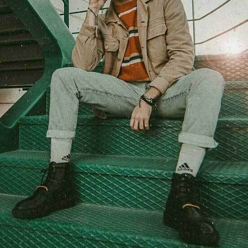 Grunge Indie Outfits Men