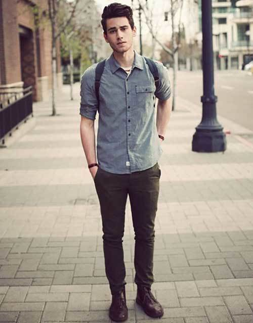 Hipster Comfortable Outfit Men