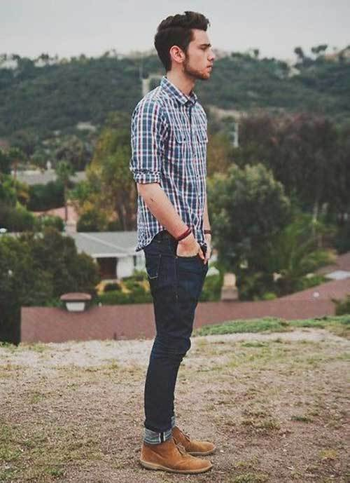 Hipster Street Outfit Men