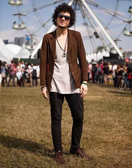 Indie Festival Outfits Men