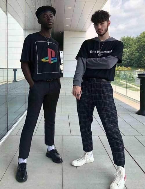 Indie Trends Outfits Men