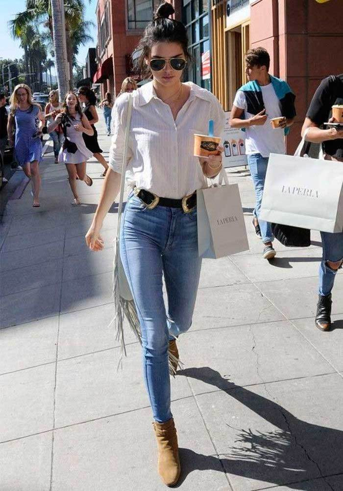Kendall Jenner Best Skinny Jeans Outfits