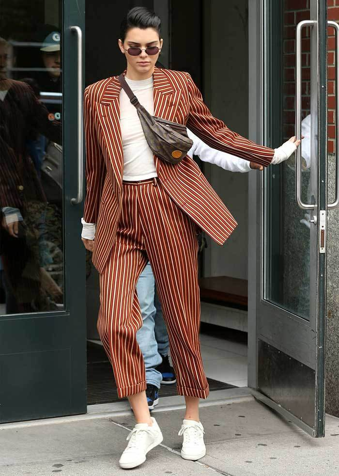 Kendall Jenner Best Striped Outfits