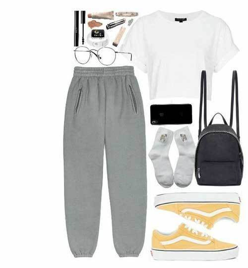 Cute Lazy Day Home Outfits