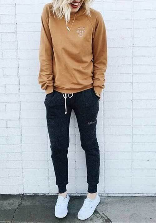 Cute Lazy Day Joggers Outfits