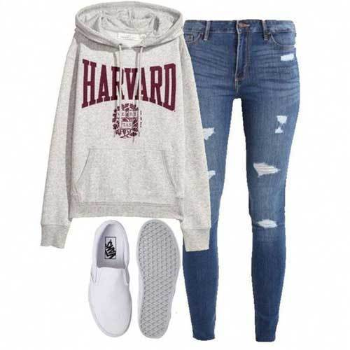 Lazy Day Outfits for School