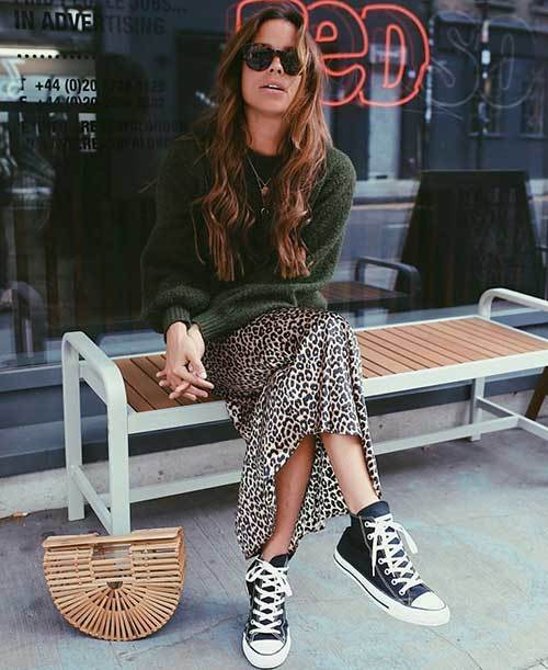 Leopard Print Street Style Outfits