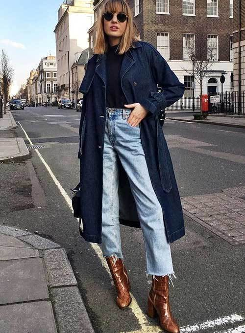 Long Jacket Street Style Outfits