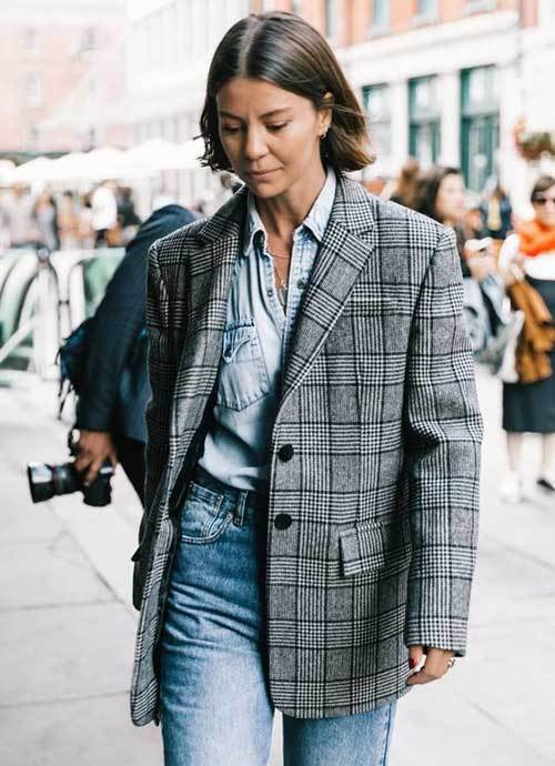 New York Blazer Jacket Street Style Outfits