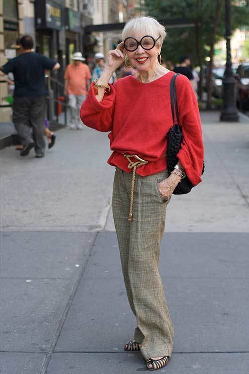 Older Women and Fashion