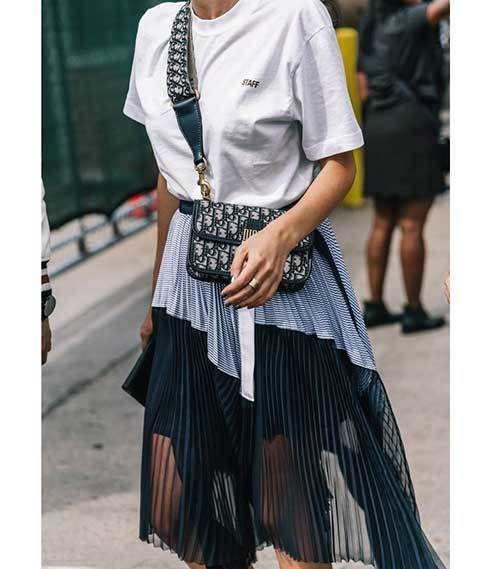 Street Style Skirt Outfits