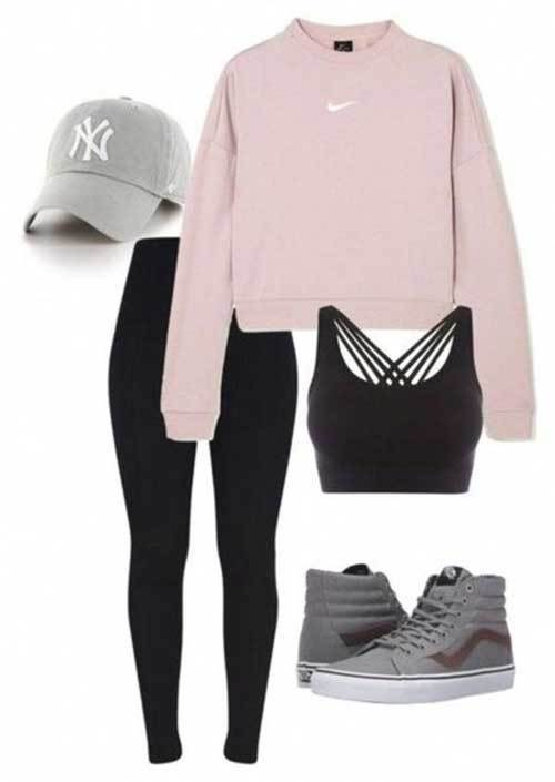 Cute Lazy Day Sport Outfits