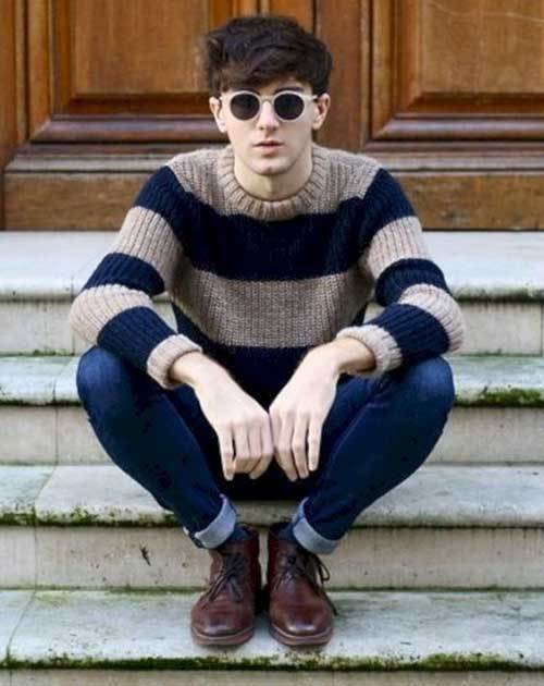 Street Style Indie Outfits Men