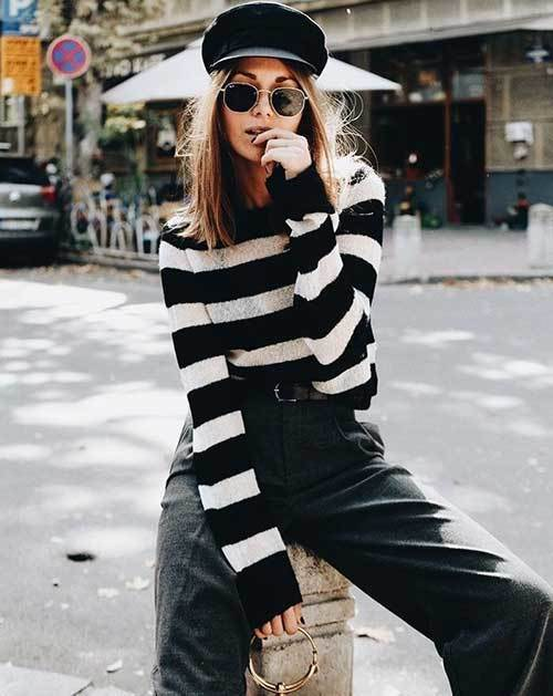 Striped Casual Outfit Ideas
