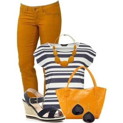 Stripes Simple Outfit Ideas