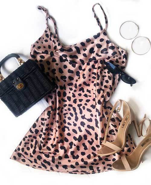 Summer Night Out Leopard Print Outfits
