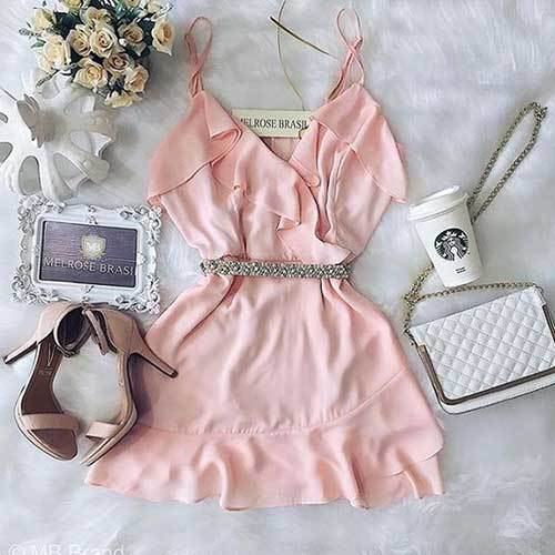 Summer Night Out Pink Outfits