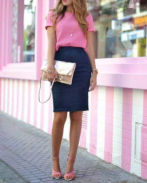 Summer Office Pink Outfit Ideas