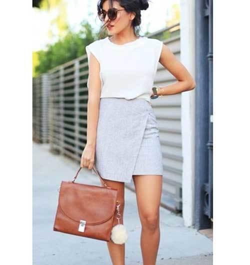 Summer Office Skirt Outfit Ideas