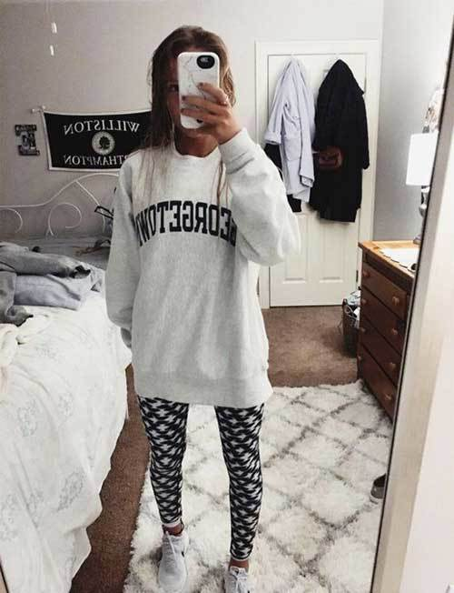 Sweatpants Cute Lazy Day Outfits