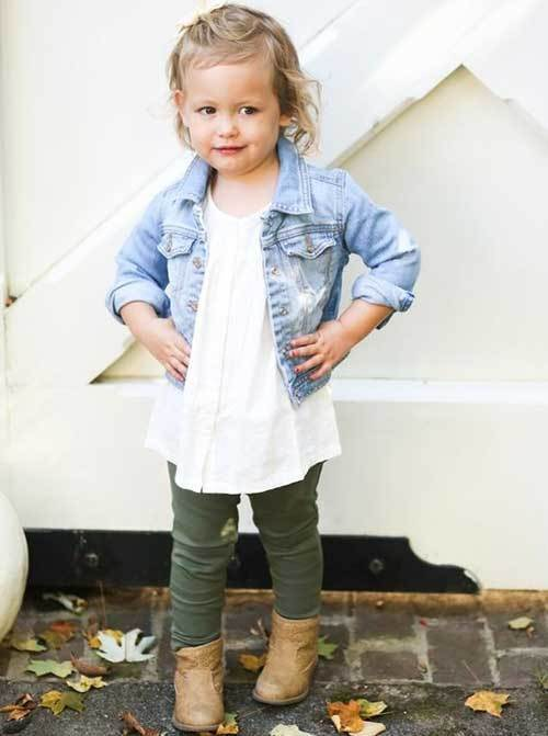Cute Toddler Girl Autumn Outfits