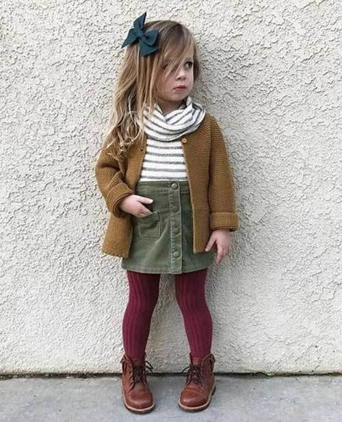 Cute Toddler Girl Fall Fashion Outfits