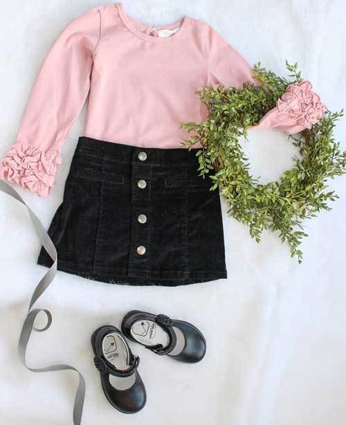 Cute Toddler Girl Fashionable Outfits