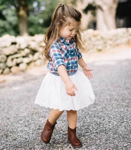 Cute Toddler Girl Shirt Outfits