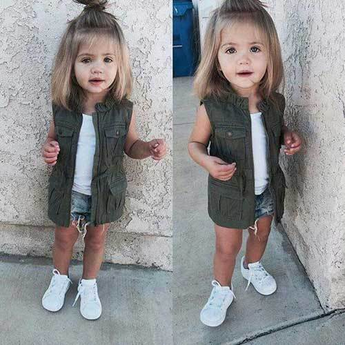 Cute Toddler Girl Simple Outfits