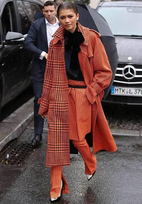 Zendaya Paris Fashion Outfits 2019