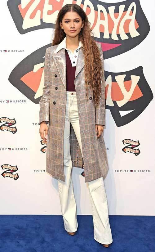 Zendaya Paris Themed Outfits 2019