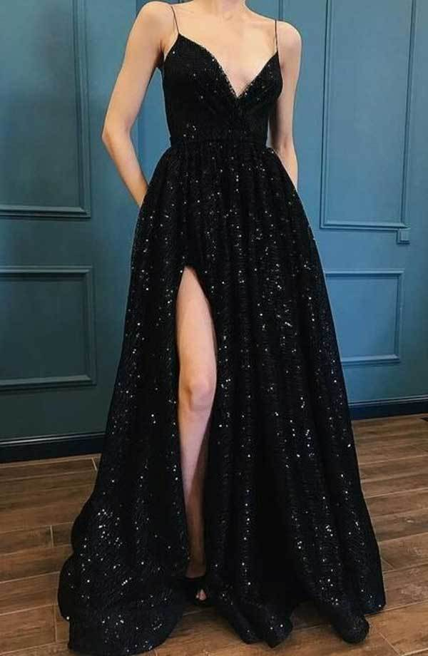 Black Prom Night Outfits-12