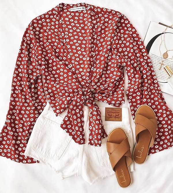 Floral Summer Outfit Combinations-15
