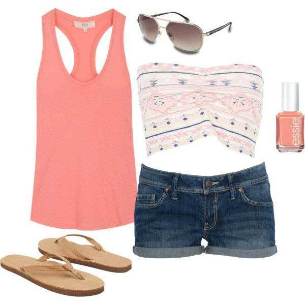 Simple Summer Outfit Combinations-16