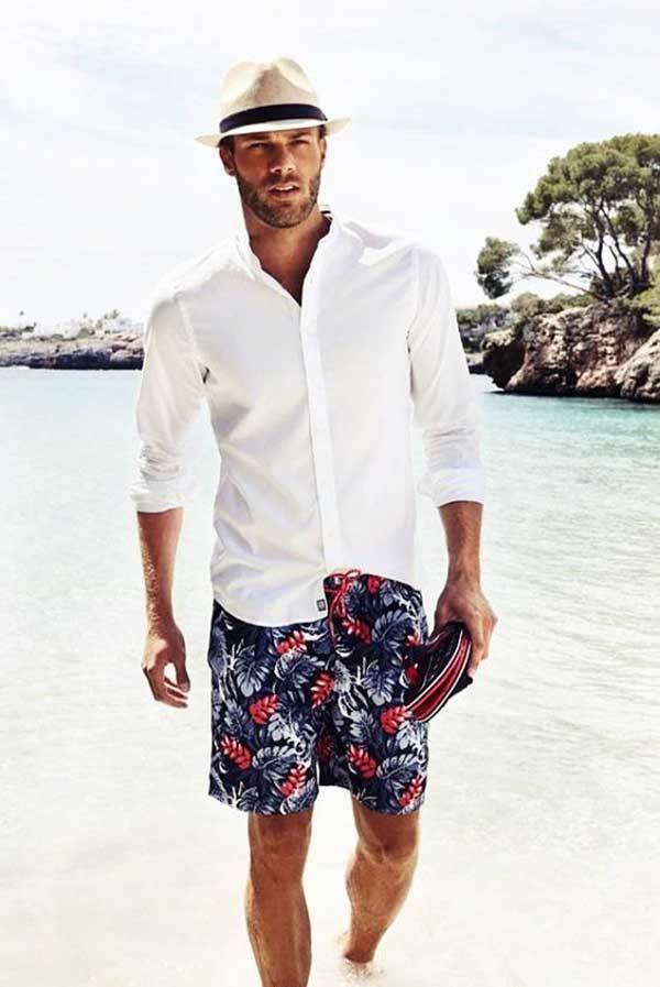 Pool Party Outfit Ideas for Men-17
