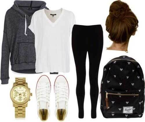 Sporty All Attire for School-20