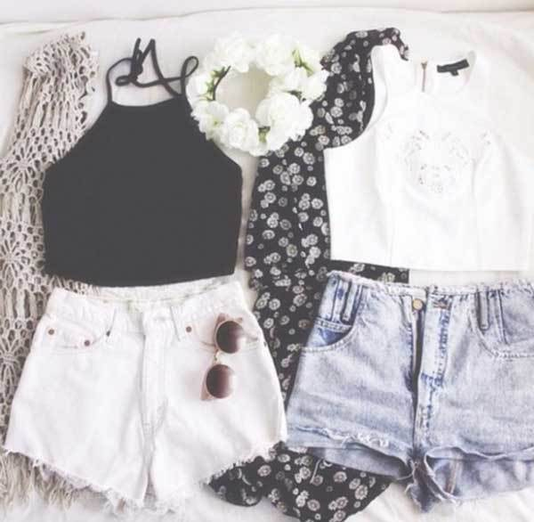 Summer Teenagers Outfit Combinations-20