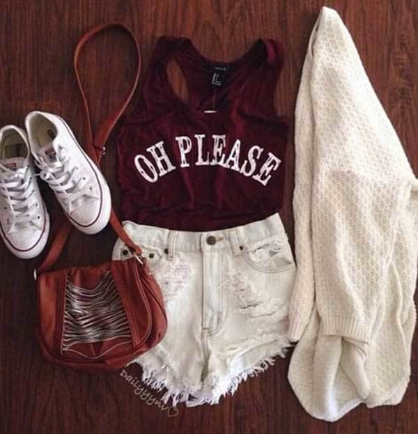 Swag Summer Outfit Combinations-28